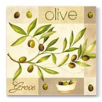 Ubrousky PAW L 33x33cm Olive Garden