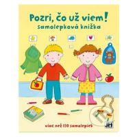Samolepková knížka - Viz, co už vím! + samolepky
