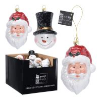 Figurka závěsná - Různé vánoční figurky 12 cm, mix / 1ks