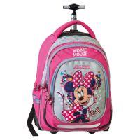 Školní batoh na kolečkách Smart Trolley Minnie Mouse, Fashion