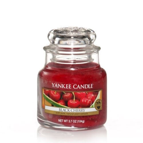 Svíčka Yankee Candle - Black Cherry, malá