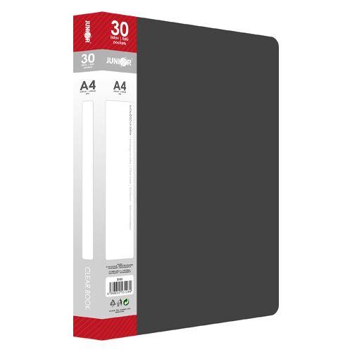 Katalogová kniha A4 / 30 listová, černá