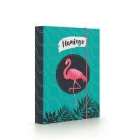 Box na sešity A5 Flamingo