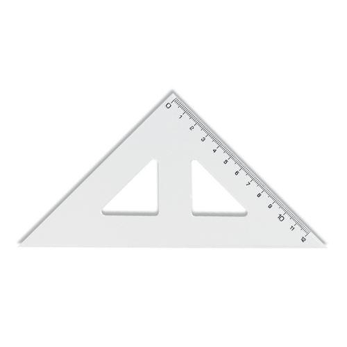 Pravítko  trojuhelník s ryskou 141mm malý