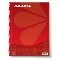 Blok A5 s boční spirálou čtverečkovaný 80 L