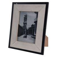 Fotorámček 13x18 cm, kovový rám
