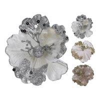 Dekorace - Květ 15x12 cm, mix / 1ks
