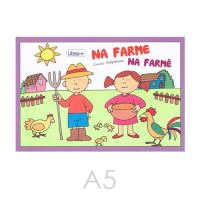 Omalovánka A5 Litera - Na farmě