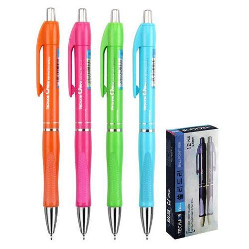 Pero kuličkové SOLIDLY TB 204-A Neon, mix-4 barev