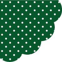 Ubrousky PAW R 32 cm Dots Dark Green