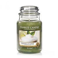Svíčka Yankee Candle - Vanilla Lime, velká