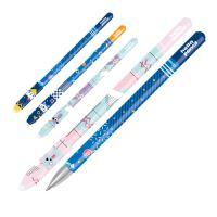 Roller gelový / Gumovací M & G iErase Hello Pencil 0.5 mm, modrý