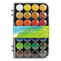 Barvy vodové M&G - 28 barev/ 28 mm