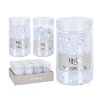 Dekorační akrylové kamínky 100g, mix / 1ks