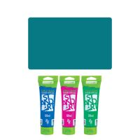 Akrylová barva JUNIOR 120 ml tyrkysová 560