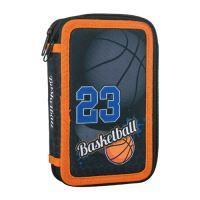 Penál 2-patrový / plněný Sazio, Basketball 23