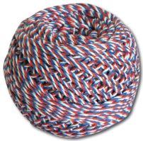 Motouz trikolora bílá / modrá / červená 40 g