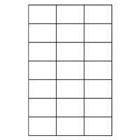 Etikety PRINT A4 / 100 ks, 70x42,4 - 21 etiket, bílé