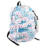 Dětský batoh + pouzdro na pera, design 3