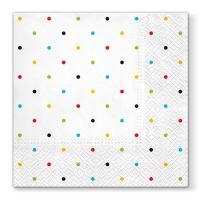 Ubrousky PAW L 33x33cm Colorful Dots