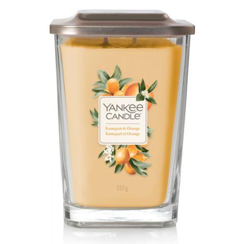 Svíčka Yankee Candle - Kumquat & Orange, velká
