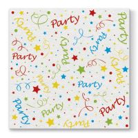 Ubrousky PAW Airlaid L 40x40cm Party Confetti