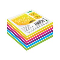 Blok / kostka samolepící Sticky Notes - Neon / White 76x76 mm / 400 l.
