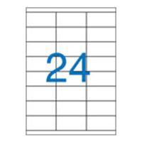 Etikety VICTORIA A4 / 100 ks, 70x36 - 24 etiket, bílé
