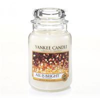 Svíčka Yankee Candle - All Is Bright, velká