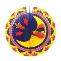 Lampion diskový Měsíc 33 cm