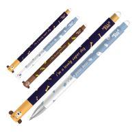 Roller gelový / Gumovací M & G iErase Happy Zoo 0.5 mm, modrý