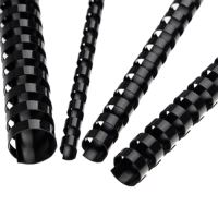 Hřebeny plastové 14 mm černé