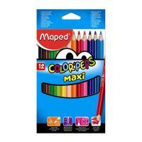 "Pastelky MAPED ""COLOR'PEPS Maxi hrubé 12ks"