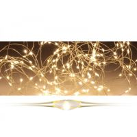 Svítící řetěz 40 LED - teplá bílá, 205 cm