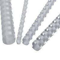 Hřebeny plastové 10 mm bílé