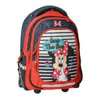Batoh školní na kolečkách Minnie Summer