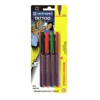 Popisovač CENTROPEN 2880 TATTOO - tetovací sada / sada 4 ks