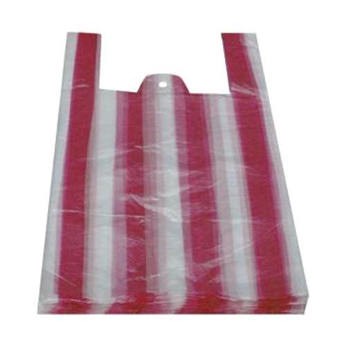 Tašky 10 kg, pruhované (blokované), 30 + 16 x 52 cm, 100 ks