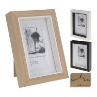 Fotorámeček 10x15 cm - dřevěný, 1ks