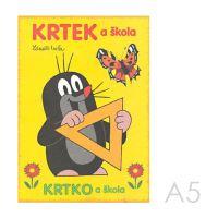 Omalovánka A5 Akim - Krtek a škola