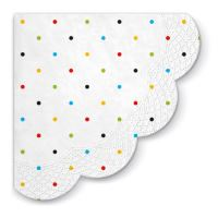 Ubrousky PAW R 32 cm Colorful Dots