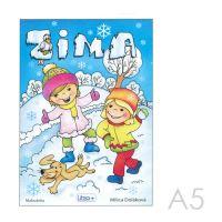 Omalovánka A5 Litera - Zima