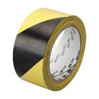 Průmyslová páska, žluto-černá, 50mm x 33m
