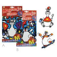 Magnetická hra - Bear and Penguin