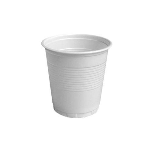 Pohár bílý 0,1 l, 100 ks