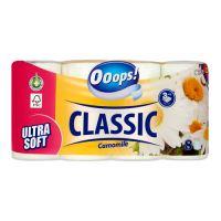 Toaletní papír Ooops! Classic Camomile 3-vrstvý, 8 ks / bal