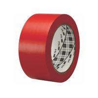 Označovací páska, 50 mm x 33 m, 3M, červená