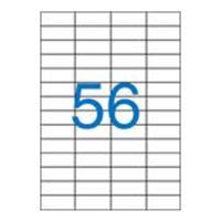 Etikety VICTORIA A4 / 100 ks, 52,5x21,2 - 56 etiket, bílé