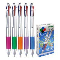 Pero 4-barevné, plastové, barva metalická
