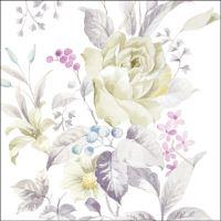 Ubrousky PAW L 33x33cm White Rose